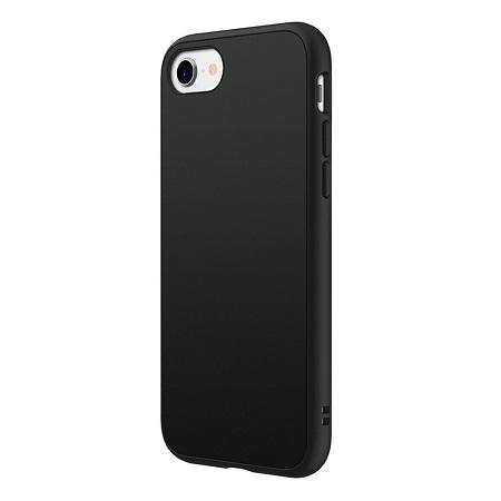 〔美式賣場〕犀牛盾 iPhone SE Solidsuit 手機殼+耐衝擊正面保護貼 黑