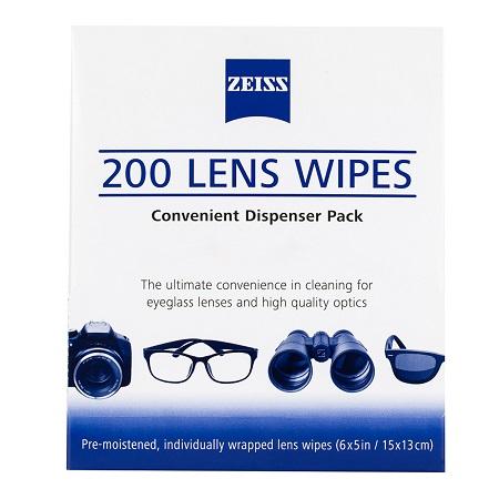 〔美式賣場〕Zeiss 鏡面擦拭紙 200張