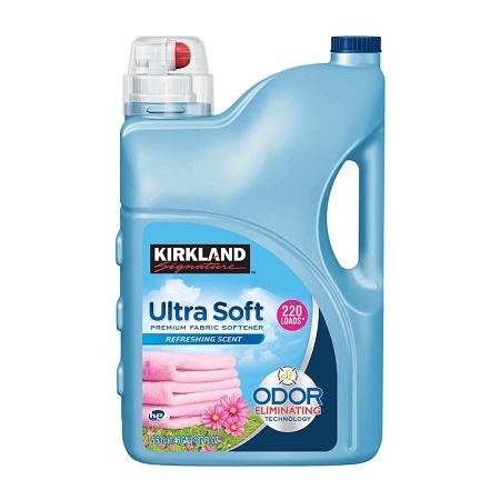 〔美式賣場〕Kirkland Signature 科克蘭 超濃縮衣物柔軟精 5.53公升