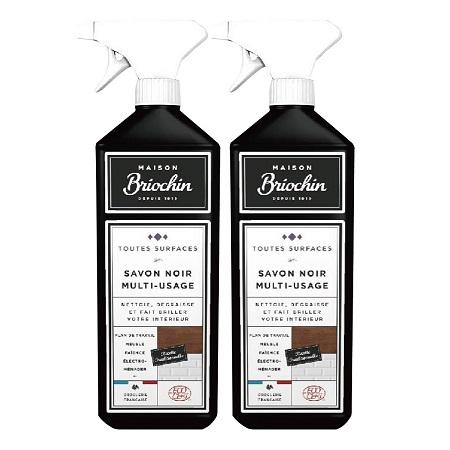 〔美式賣場〕Maison Briochin 黑牌碧歐馨 多功能黑皂液 750毫升 X 2入