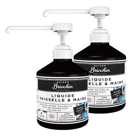 〔美式賣場〕Maison Briochin 黑牌碧歐馨 護手洗碗精 500毫升 X 2入