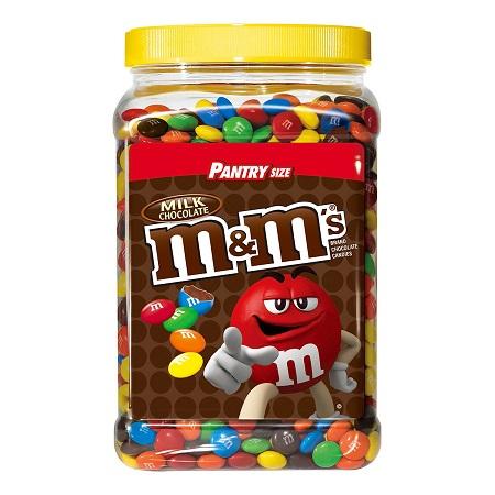 〔美式賣場〕M&Ms 罐裝牛奶巧克力 1757.7公克
