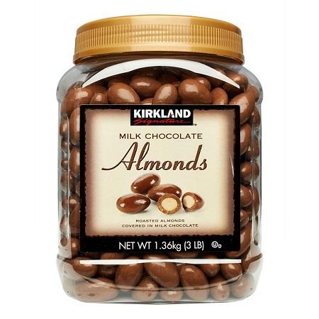 〔美式賣場〕Kirkland Signature 科克蘭 杏仁巧克力 1.36公斤