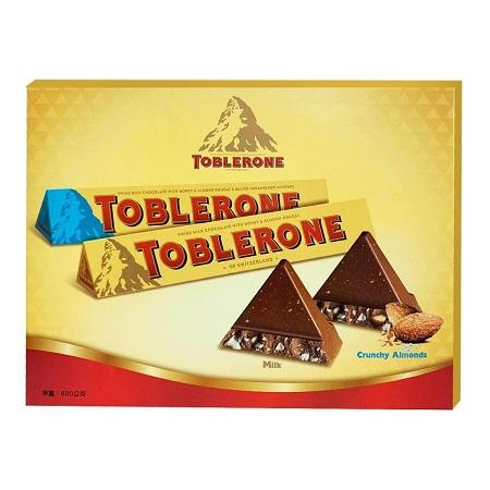 〔美式賣場〕Toblerone 瑞士三角巧克力綜合組 100公克 X 8入
