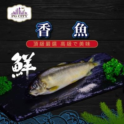 PG CITY鮮食館 高級香魚 Sweetfish  920g±5% 約12-16隻/一組(低溫配送) 嚴選海鮮