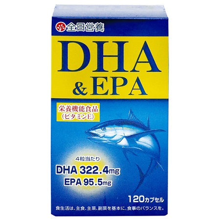 【全日營養】優和DHA魚油軟膠囊120粒
