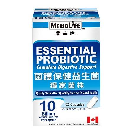 〔美式賣場〕MERIDLIFE 樂益活菌護保健益生菌 120 顆