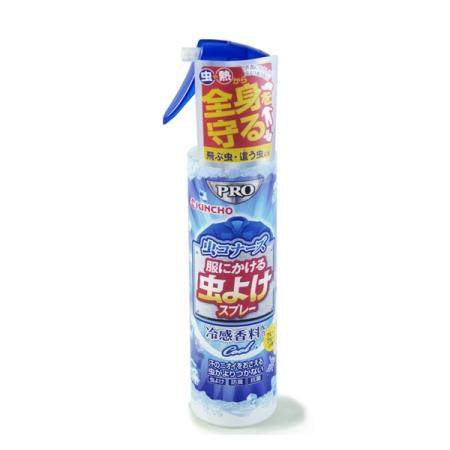 日本 KINCHO 金鳥 衣類專用涼感消臭驅蚊噴霧 200ml*1瓶