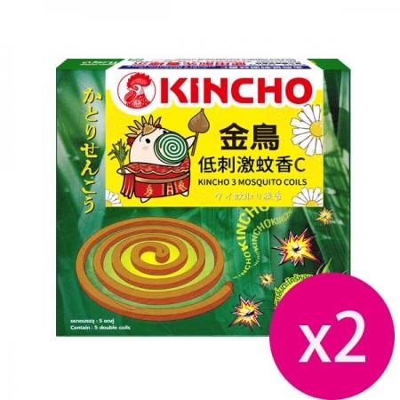 KINCHO 金鳥低刺激蚊香C (10巻)*2盒