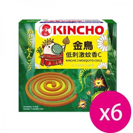 KINCHO 金鳥低刺激蚊香C (10巻)*6盒