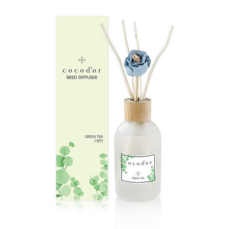 【cocodor】莫蘭迪系列擴香瓶200ml - 綠茶