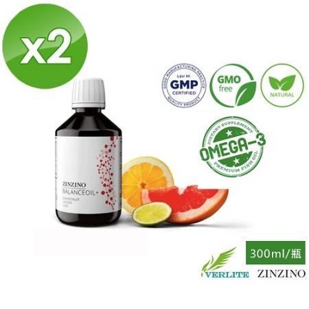 【ZINZINO】超能量機能平衡油-300ml/瓶x2瓶