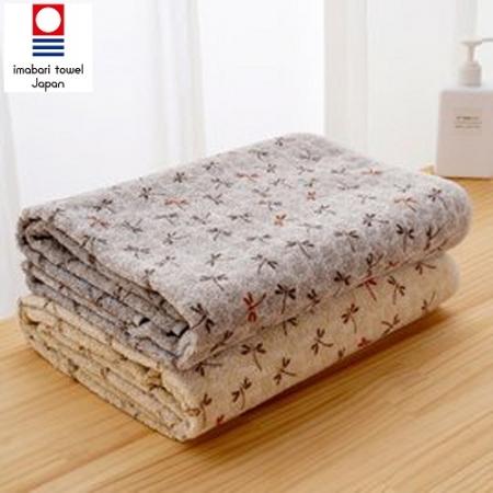 【藤高今治】日本銷售第一100%純棉今治認證蜻蜓系列浴巾
