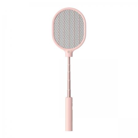 〔美式賣場〕Normi 伸縮式電蚊拍 粉紅