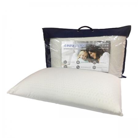 〔美式賣場〕Reverie 標準舒適乳膠枕 (歐式斜邊) 65 x 40 x 14 公分