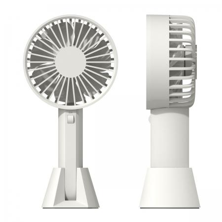 〔美式賣場〕艾美特 USB手持充電風扇 2入組 (U501) - 白