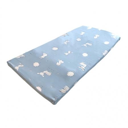 〔美式賣場〕Reverie 透氣嬰兒波浪型乳膠墊 - 森林動物