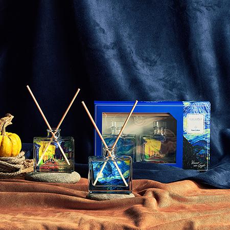 【cocodor】名畫擴香系列禮盒-梵谷Van Gogh (純棉花香Pure Cotton)