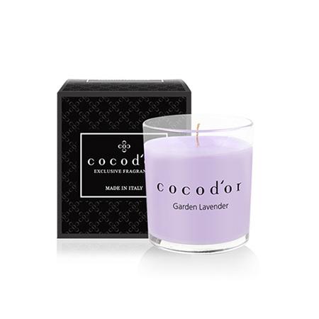 【cocodor】香氛蠟燭130g-花園薰衣草Garden Lavender
