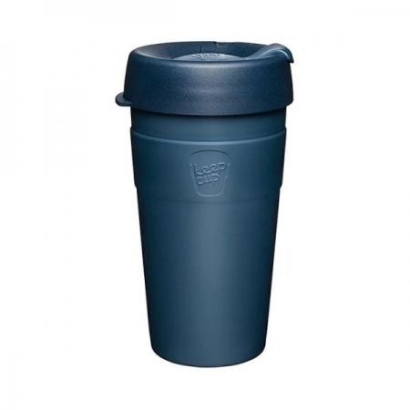 【KeepCup】雙層真空隨身杯454ml(16oz) L - 優雅藍