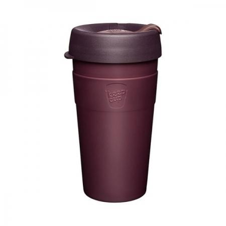 【KeepCup】雙層真空隨身杯454ml(16oz) L - 甜酒紅