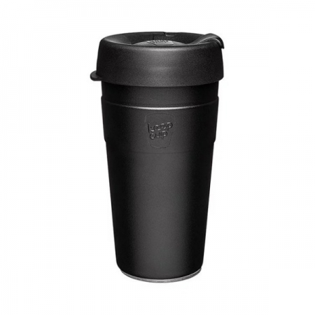 【KeepCup】雙層真空隨身杯454ml(16oz) L - 魅力黑