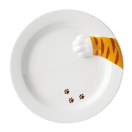 【sunart】日本sunart 餐盤 - 貓偷食 趣味 送禮 可愛 貓咪系列