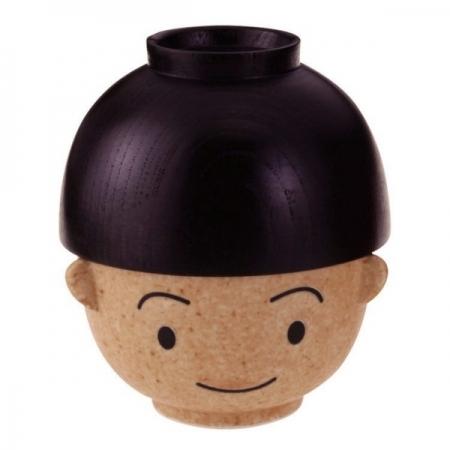 【sunart】日本sunart 飯湯碗組 - 滿福男孩 趣味 送禮 可愛