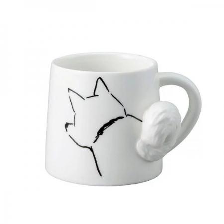 【sunart】日本sunart 馬克杯 - 搖尾犬 趣味 送禮 可愛