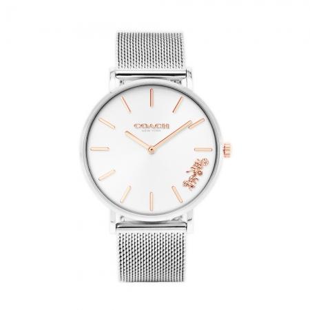 COACH l 經典馬車腕錶 白鋼 CO14503124