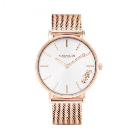 COACH l 經典馬車腕錶 玫瑰金 CO14503126