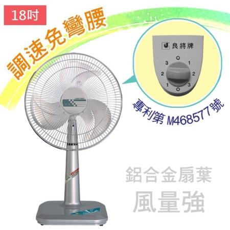 【良將】18吋鋁葉立式強風扇 S-1833