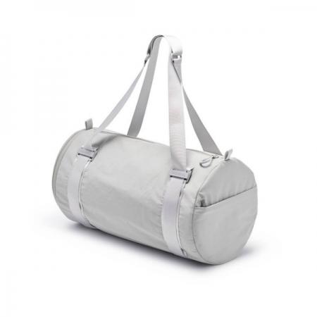 【德國Notabag】諾特輕旅圓筒包 - 銀狐灰 手提包 後背包 提袋 瑜珈包 鞋包