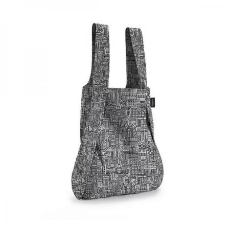 【德國Notabag】 諾特包-HELLO WORLD (黑色城市款) 手提包 後背包 提袋