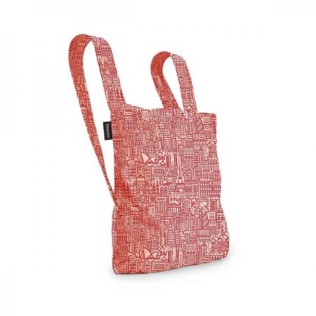 【德國Notabag】 諾特包-HELLO WORLD (紅色城市款) 手提包 後背包 提袋