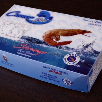 PG CITY鮮食館 宏都拉斯 冷凍生白蝦 whiteleg shrimp 超鮮甜 1KG / 40-50隻 嚴選海鮮