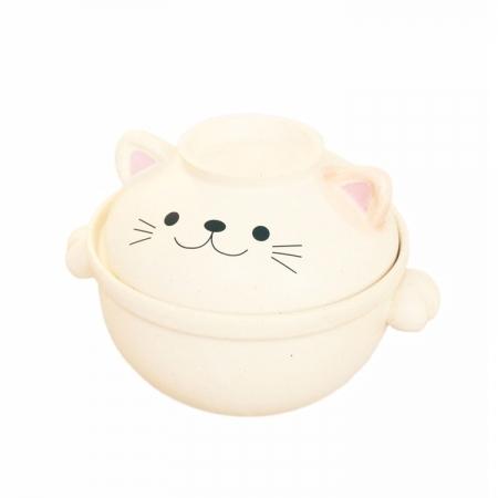 【sunart】日本 sunart 陶鍋 - 貓咪 0.7L 送禮 可愛 陶鍋 小容量