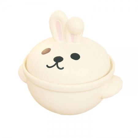 【sunart】日本 sunart 陶鍋 - 兔子 0.7L 送禮 可愛 陶鍋 小容量