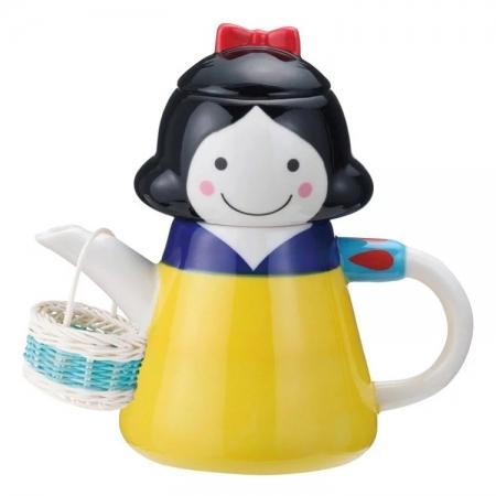 【sunart】日本sunart 杯壺組 - 白雪公主(附濾網/小提籃) 趣味 送禮 可愛