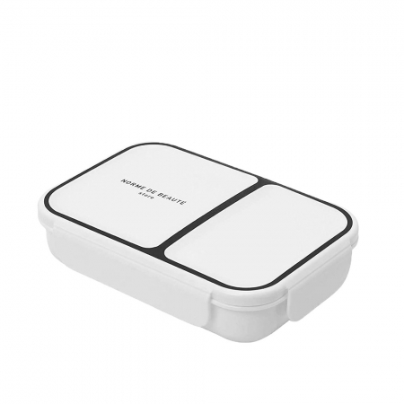 【CB JAPAN 日本】時尚巴黎系列纖細餐盒-典雅白 700ml 便當盒 餐盒