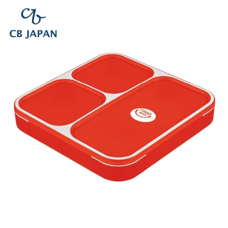 【CB JAPAN 日本】時尚巴黎系列纖細餐盒-時尚紅 800ml 便當盒 餐盒