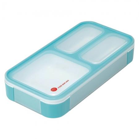 【CB JAPAN 日本】時尚巴黎系列纖細餐盒-天空藍 400ml 便當盒 餐盒