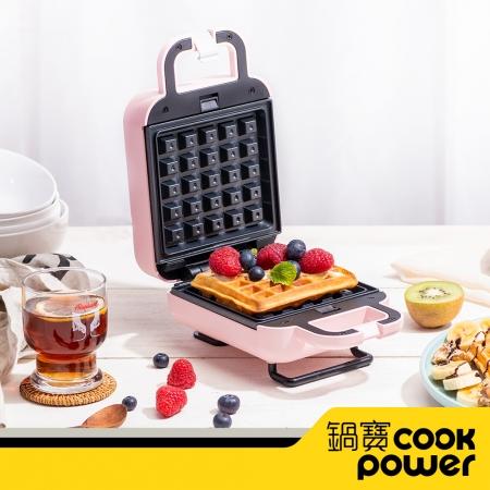 【CookPower鍋寶】熱壓吐司鬆餅機 MF-1115P