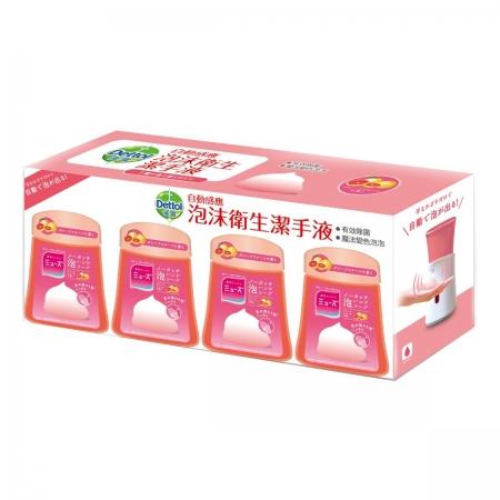 〔美式賣場〕滴露泡沫洗手液補充包 葡萄柚 250毫升 X 4入
