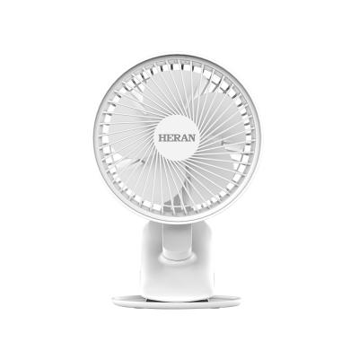 禾聯HERAN HUF-71HP030 柔光夜燈USB 桌夾扇 350克