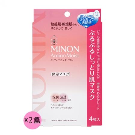 【MINON蜜濃】水潤保濕修護面膜 4枚入 *2盒
