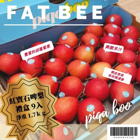FatBee紐西蘭紅寶石啤梨禮盒 / 9入