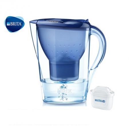 德國BRITA Marella XL馬利拉濾水壺3.5L(1壺1芯)藍色 原廠公司貨