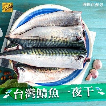 【好神】台灣鮮凍鯖魚一夜干16片組(165g/片)