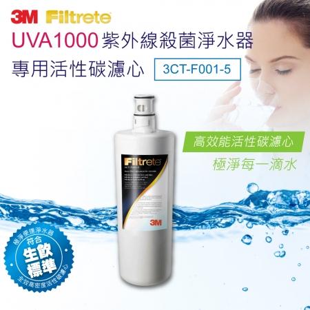 【3M】 紫外線殺菌淨水器UVA1000專用濾心(3CT-F001-5)